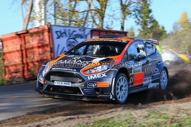 Jeroen Swaanen - Ford Fiesta R5 - Euregio Rally 2014