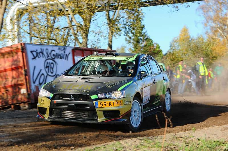 Rally Team Brabant - Mitsubishi Lancer Evo X
