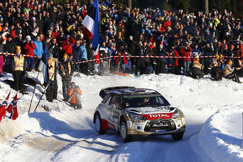Citroën DS3 WRC - Rally Sweden 2015