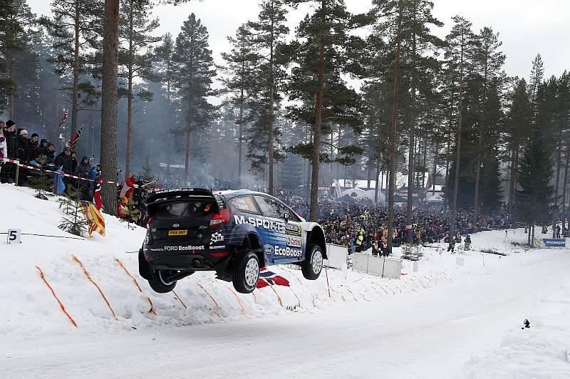 Elfyn Evans - Rally Sweden 2015