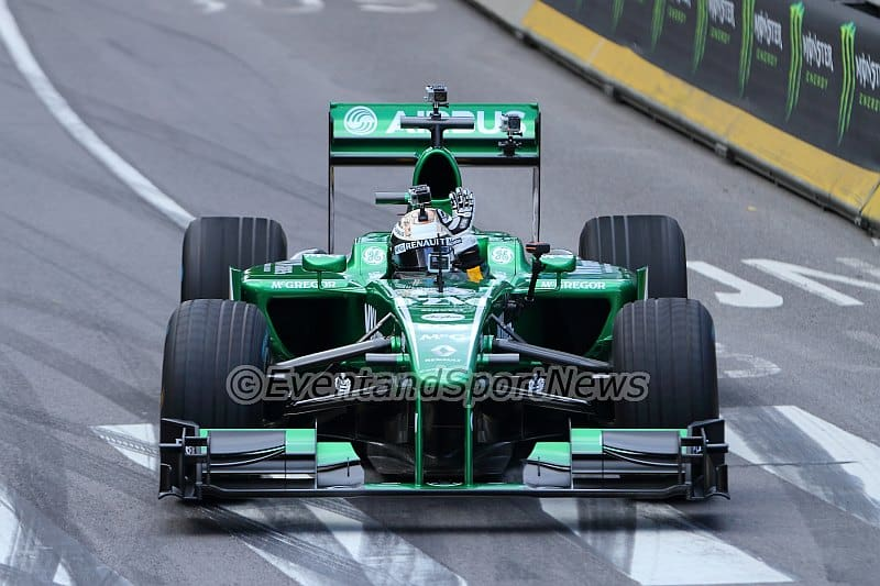 Lotus F1 - Guido van der Garde - City Racing Rotterdam 2013