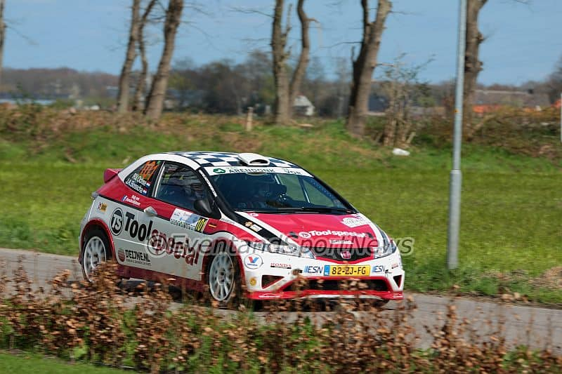 Ruurd Ochse - Honda Civic R3 - Rally van Putten 2015