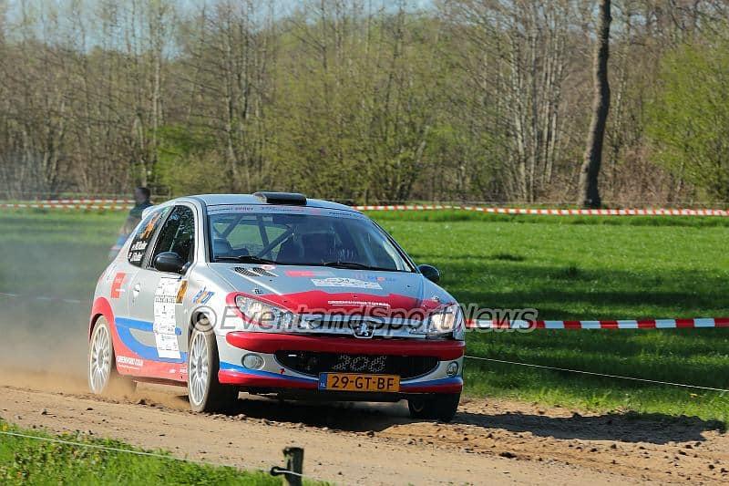 Wolbertie Ruiter - Peugeot 206 RC - Rally van Putten 2015