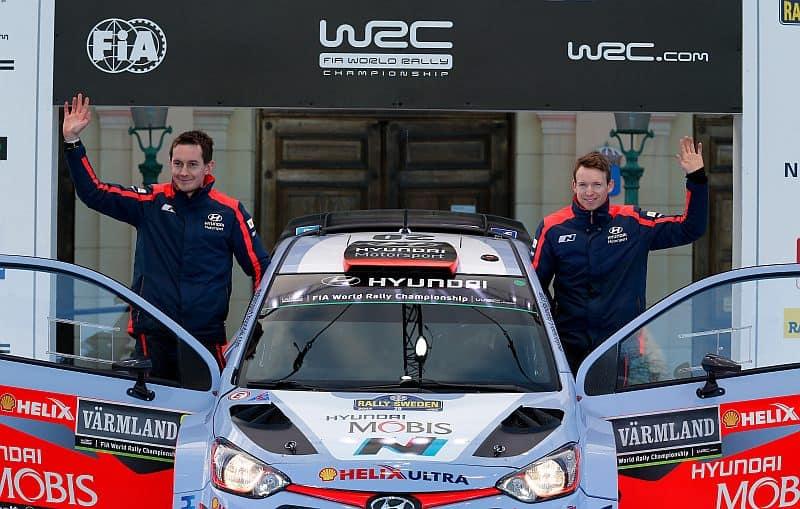 Kevin Abbring - Hyundai i20 WRC - Rally van Zweden 2015