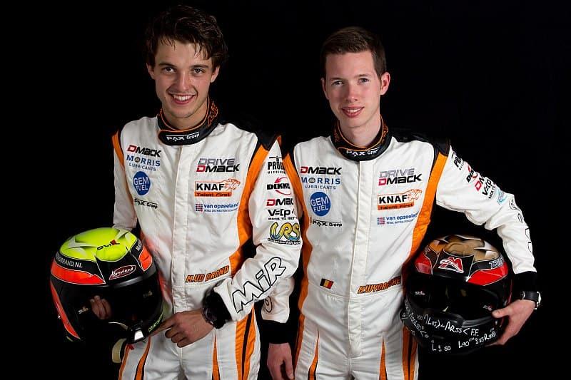Mats van den Brand en Martijn Wijdaeghe - Drive DMACK Fiesta Trophy 2015