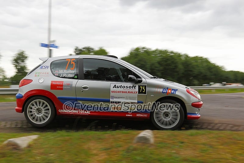 Wolbertie Ruiter - Peugeot 206 RC - Vechtdalrally 2015