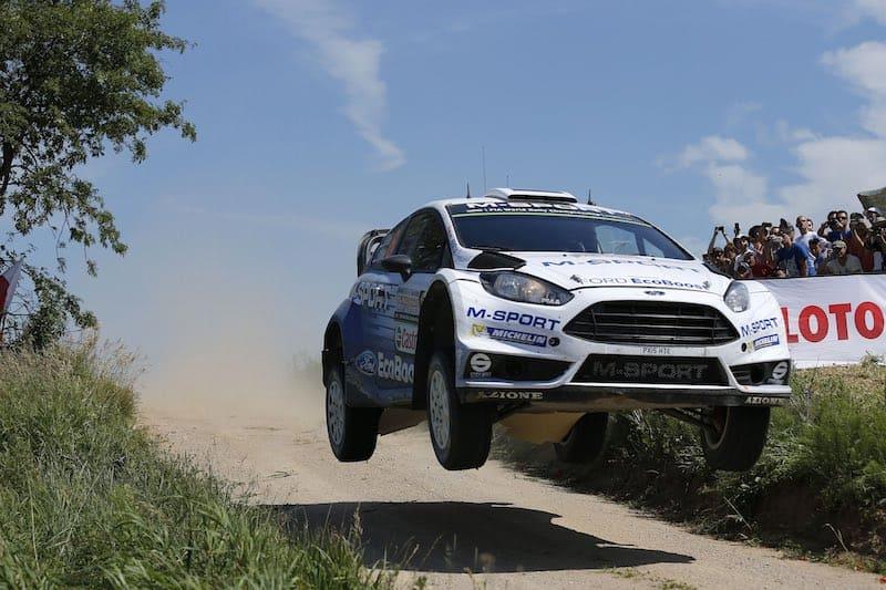 Ott Tänak - Ford Fiesta RS WRC - Rally Polen 2015