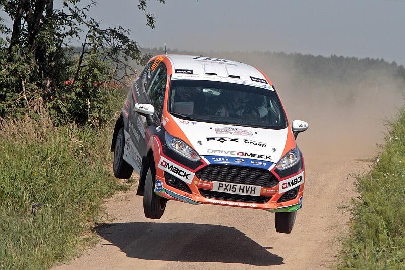 Mats van den Brand - Ford Fiesta R2 - Rally van Polen 2015