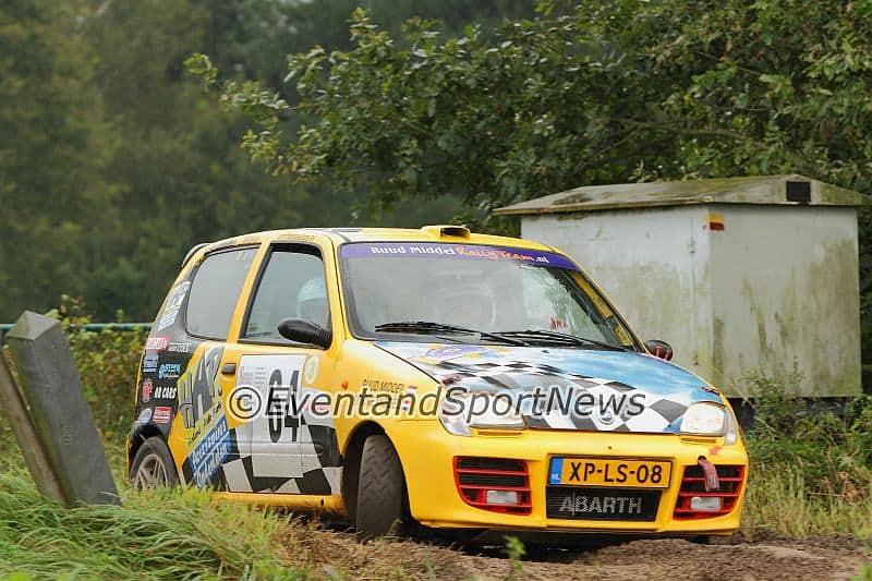 Ruud Middel - Fiat Seicento Trofeo - Shortrally Kasterlee 2014