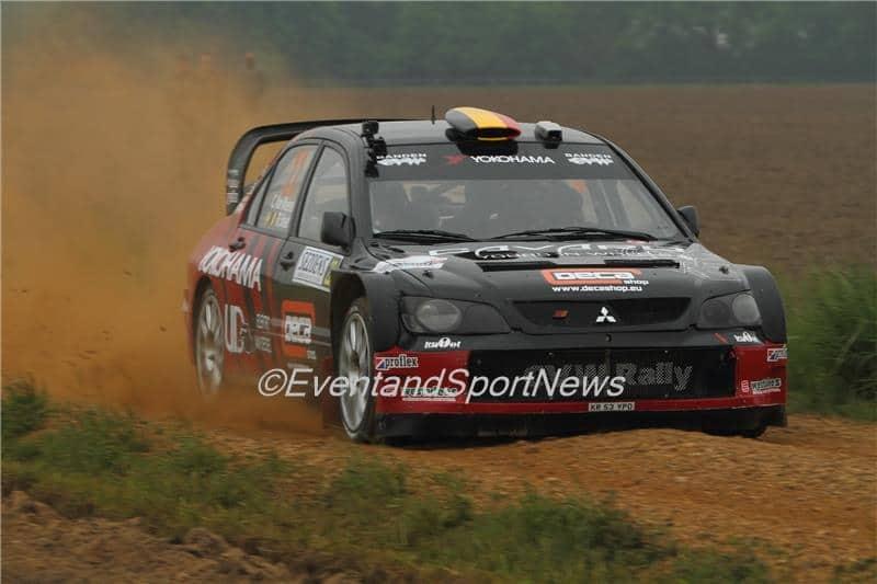 Chris van Woensel - Mitsubishi Lancer WRC '05 - Sezoensrally 2015