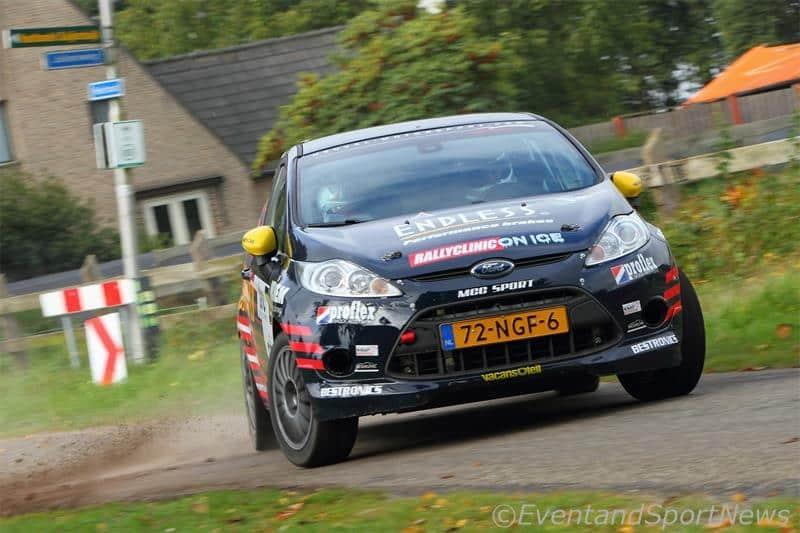 Jim van den Heuvel - Ford Fiesta R2 - GTC Rally 2015
