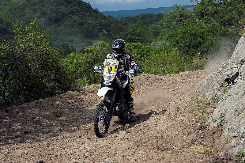 Frans Verhoeven - Yamaha - Dakar 2016