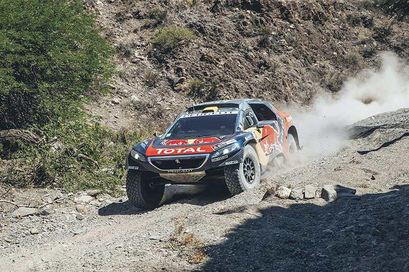 Stephane Peterhansel - Peugeot 2008DKR - Dakar 2016