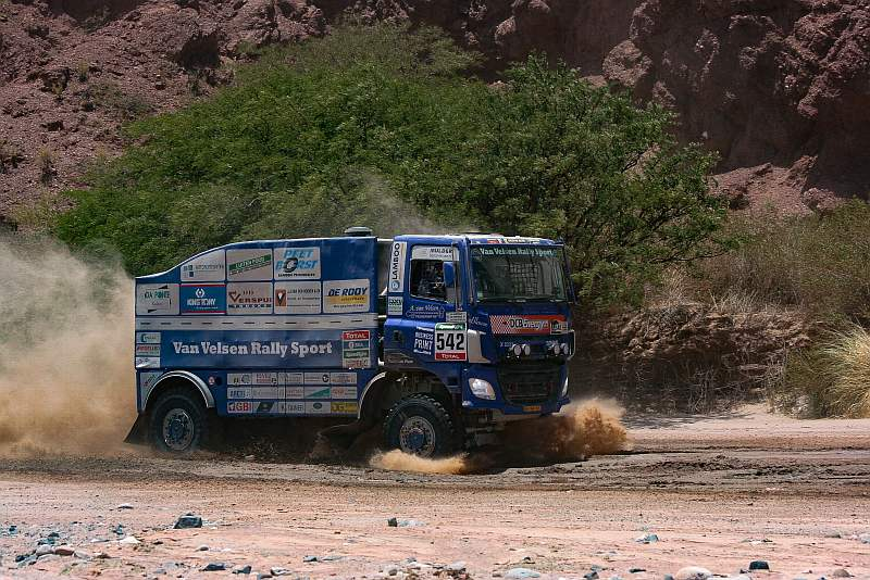 Aad van Velsen - GINAF - Dakar 2016
