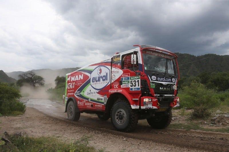 Eurol VEKA MAN Rally Team - Dakar 2016