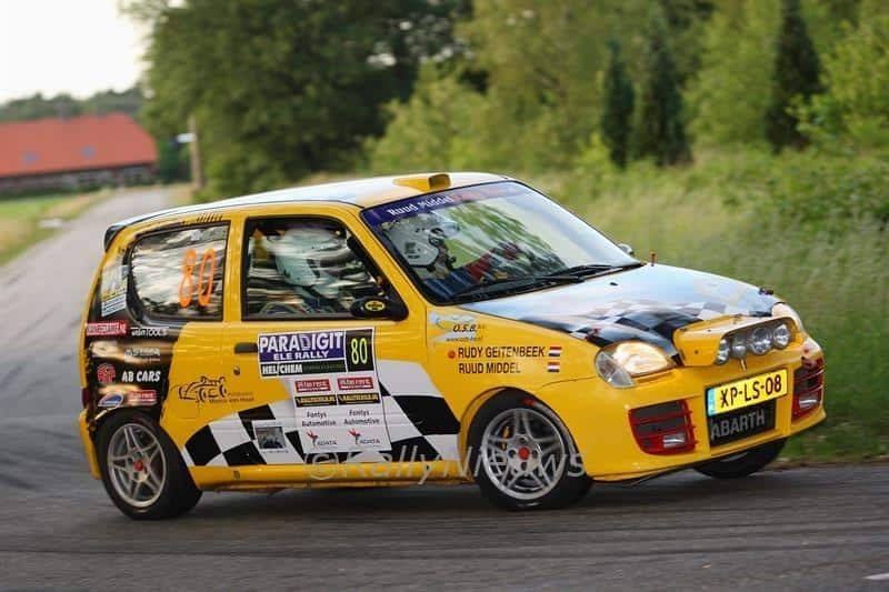 Ruud Middel Rally Team - Fiat Seicento - ELE Rally 2011