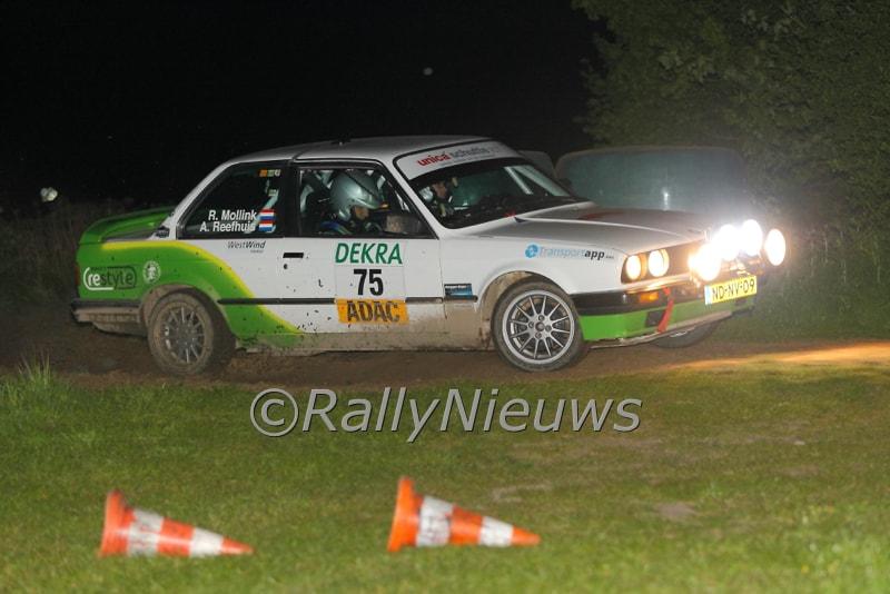 Rick Mollink & Arjan Reefhuis - BMW 32i - Rallye Sulingen 2016