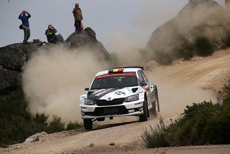 Ghislain de Mevius & Johan Jalet - Skoda Fabia R5 - Rally Portugal 2016