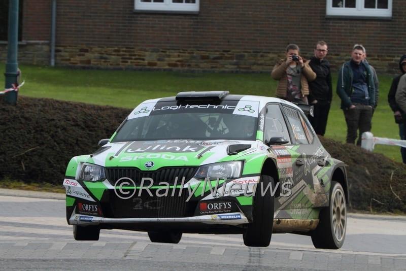 Freddy Loix & Johan Gitsels - Skoda Fabia R5 - Rallye de Wallonie 2016