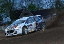 Kris Princen & Peter Kaspers - Peugeot 208 T16 - Rallye de Wallonie 2016