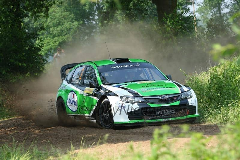 Erik van Loon & Harmen Scholtalbers - Subaru Impreza S14 WRC - ELE Rally 2016