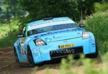 Roel van de Zanden & Ilse van der Sande - Nissan 350z - ELE Rally 2016
