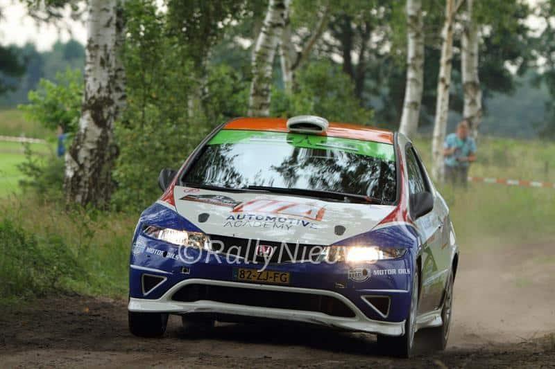 Ruurd Ochse & Fred Roelfsema - Honda CIvic R3 - Vechtdal Shortrally