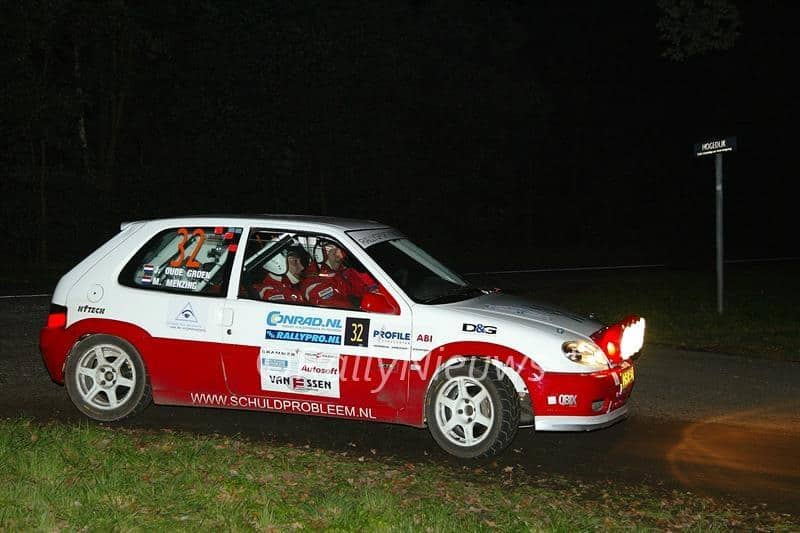 Martin Menzing & Joost Oude Groen - Citroën Saxo VTS - Conrad Euregio Rally 2006