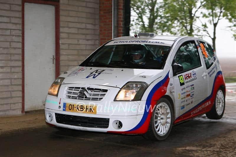 Martin Menzing & Joost Oude Groen - Citroën C2 R2 - VEKA Eurol Auto Altena Rally 2012