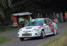Piet van Hoof & Rob Basten - Mitsubishi Lancer Evo 4 - Short Rally Kasterlee 2016
