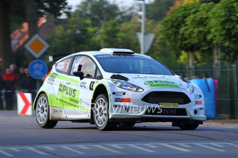 Hans Weijs jr & Bjorn Degandt - Ford Fiesta R5 - GTC Rally 2015