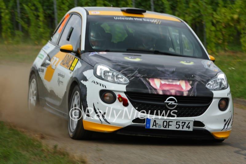 Timo van der Marel & Jac Gillis - Opel Adam R2 - ADAC Rallye Deutschland 2016