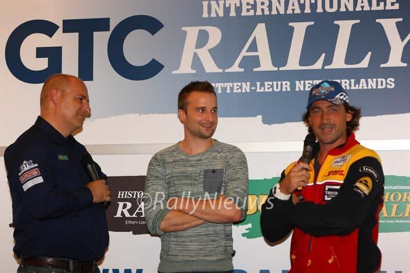 Bob de Jong & Jeroen van den Heuvel & Hugo van Opstal - GTC Rally 2017