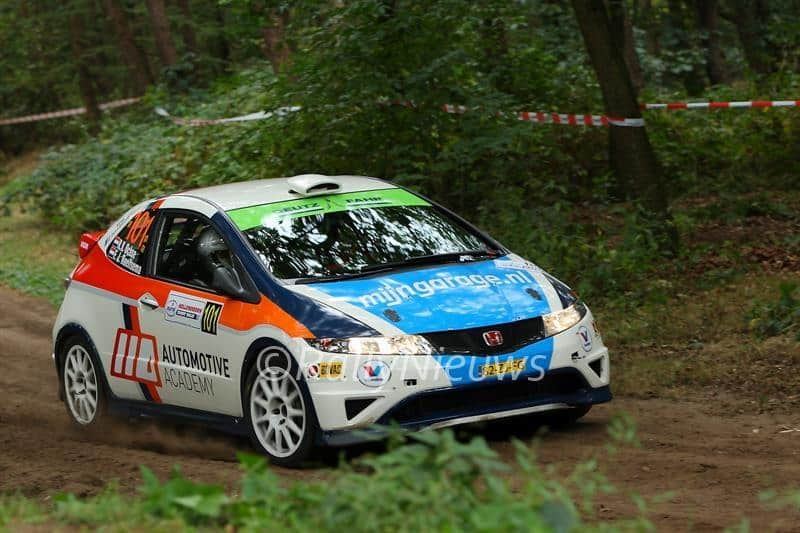 Ruurd Ochse & Fred Roelfsema - Honda Civic R3 - Hellendoorn Shortrally 2016