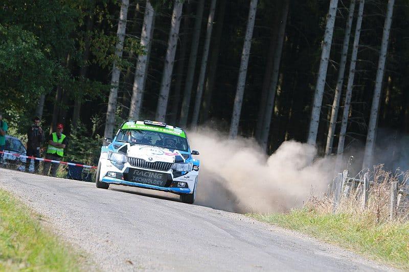 Cedric Cherain - Skoda Fabia R5 - East Belgian Rally 2016