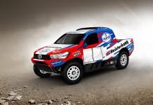 Erik van Loon met Toyota Hilux van Overdrive Racing naar Dakar 2017