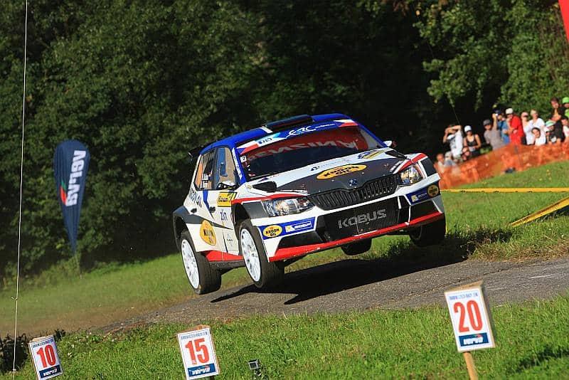 Hermen Kobus & Davy Thierie - Skoda Fabia R5 - Barum Rally 2016