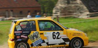 Ruud Middel & Simone Middel -Fiat Seicento - Short Rally Kasterlee 2016