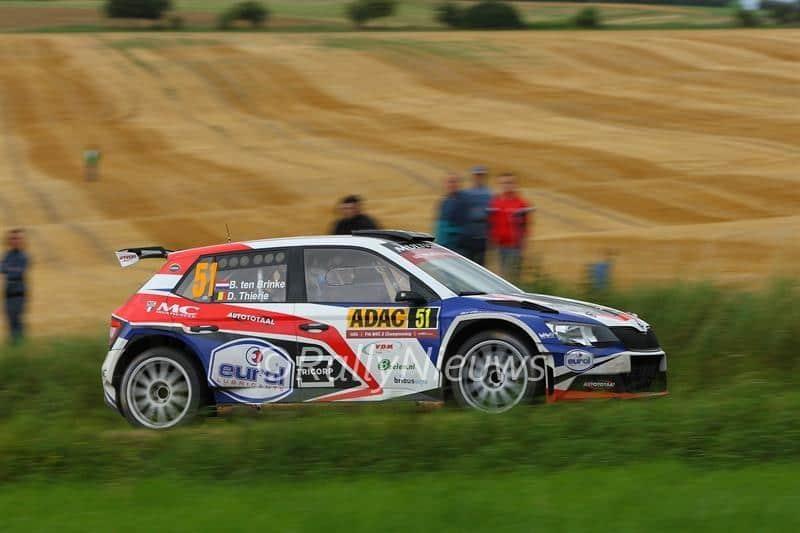 Bernhard ten Brinke & Davy Thierie - Skoda Fabia R5 - ADAC Rallye Deutschland 2016