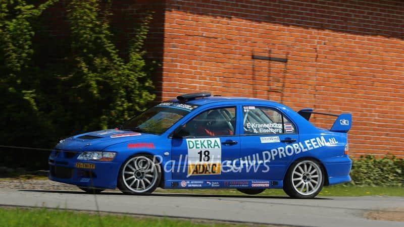 Ernst Kranenburg & Alex Eisenberg - Mitsubishi Lancer Evo 8 - Rallye Sulingen 2016