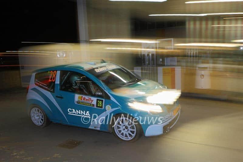René Wawrzyniak & Christiaan van der Rijsen - Citroen C2 R2 Max - TankS Rally 2013
