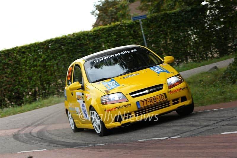 Mathijs Elsinga & Arjan Reefhuis - Chevrolet Kalos - Jumbo Short Rally 2016