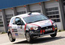 Christiaan van der Rijsen & Jasper van Tienen - Mitsubishi Colt CZT - OVD Groep Ede Rally 2011