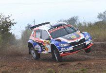 Bernhard ten Brinke & Davy Thierie - Skoda Fabia R5 - WRC Spanje 2016