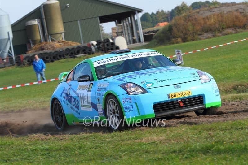 Roel van der Zanden & Gijs Boom - Nissan 350Z - GTC Rally