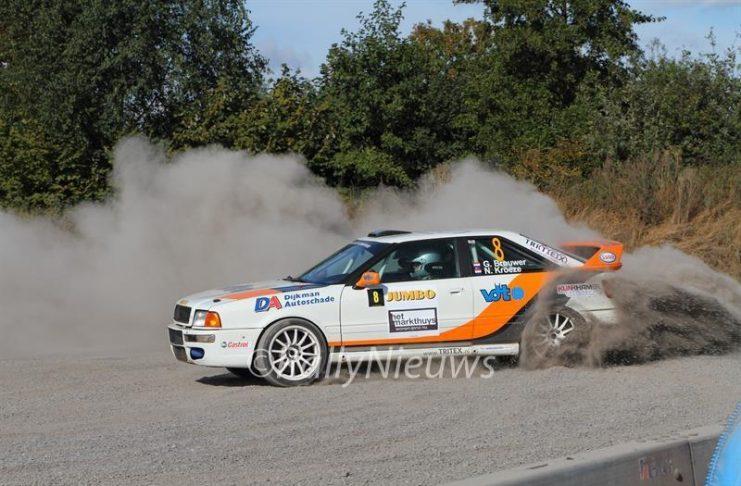 Gerben Brouwer & Niels Kroeze - Audi Quattro S2 - GTC Rally 2016