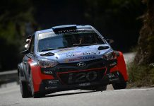 Kevin Abbring & Seb Marshall - Hyundai i20 WRC - Rally van Spanje 2016