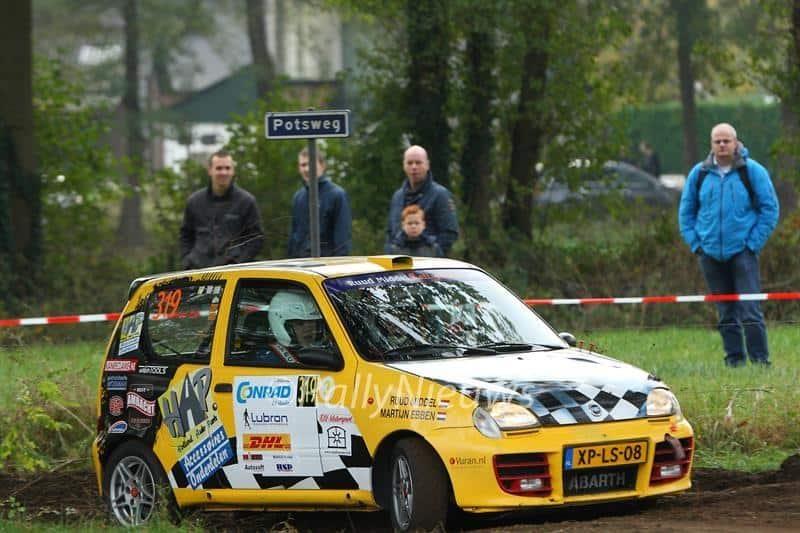 Ruud Middel & Martijn Ebben - Fiat Seicento - Twente Short Rally 2016