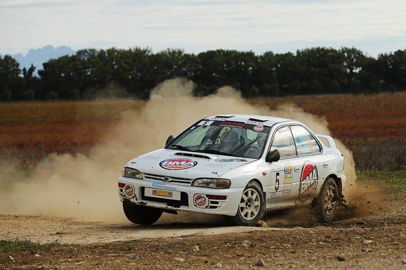 BMA - Subaru Impreza 555 - Rallye Terre de Vaucluse 2016