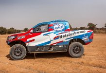 Overdrive Toyota Hilux - Dakar 2017
